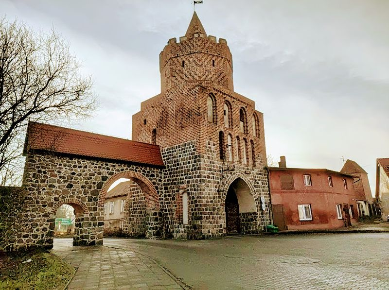 Brama Myśliborska - Trzcińsko Zdrój