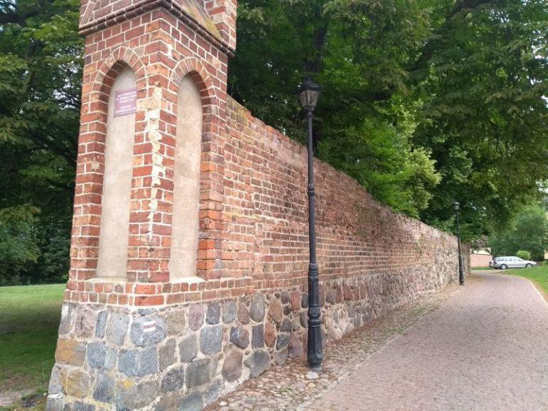 Mury miejskie Chojny