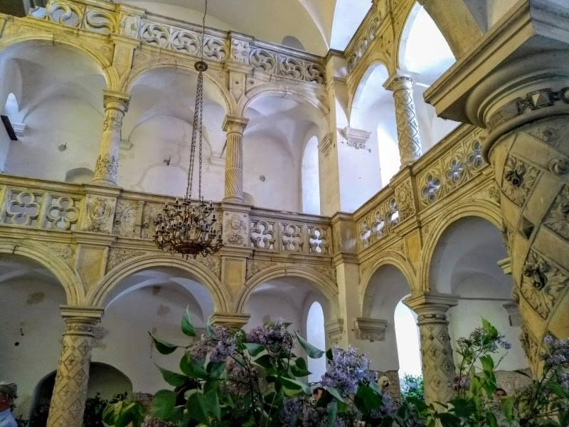 Zamek Carolath - kaplica